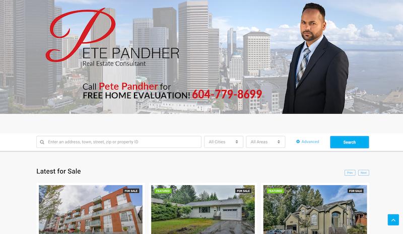 Realtor website design